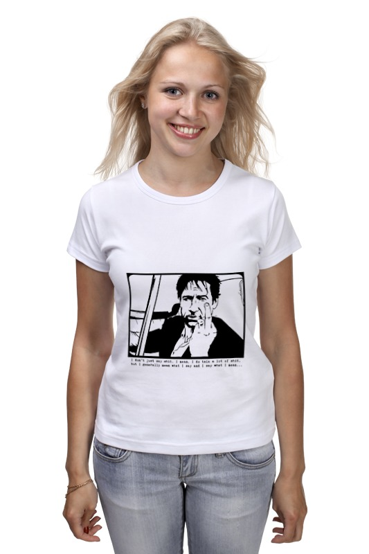 Футболка классическая Printio Hank moody (хэнк муди), californication картридж cactus cs ce255xs black для hp lj p3015 12500 стр