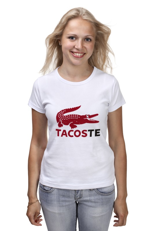 Футболка классическая Printio Tacoste шапка классическая унисекс printio tacoste