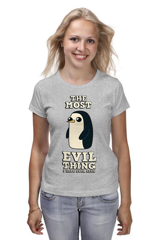 Футболка классическая Printio Пингвин гюнтер. время приключений детская футболка классическая унисекс printio пингвин гюнтер время приключений