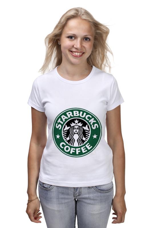 Футболка классическая Printio Starbucks coffee сумка printio starbucks coffee