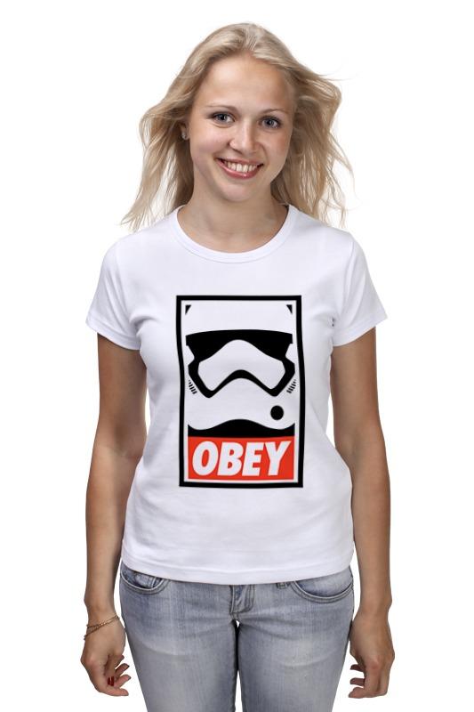 Футболка классическая Printio Obey satrwars футболка классическая printio kirill obey