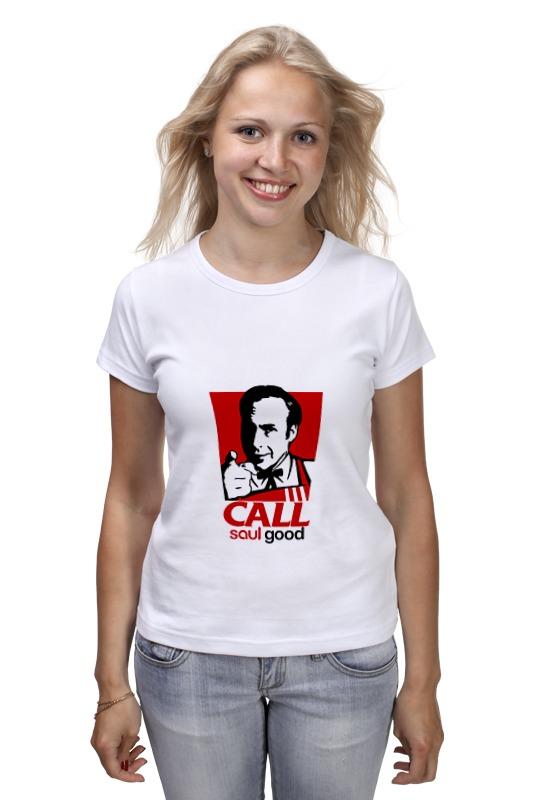 Футболка классическая Printio Call (saul good) футболка классическая printio call saul good