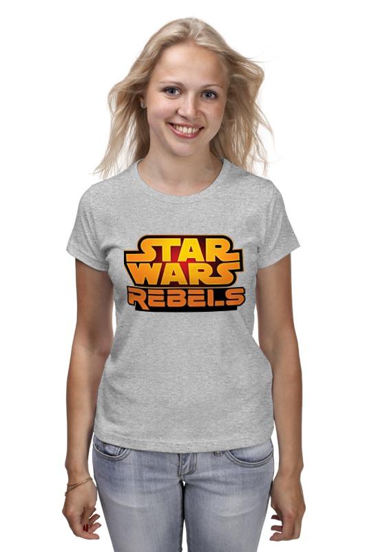 цены Футболка классическая Printio Star wars rebels / звездные войны повстанцы
