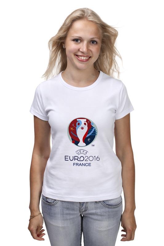 все цены на Футболка классическая Printio Евро 2016