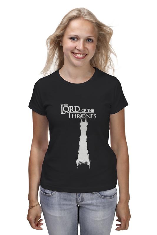 Футболка классическая Printio Lord of the thrones футболка print bar game of thrones vs lord of the rings