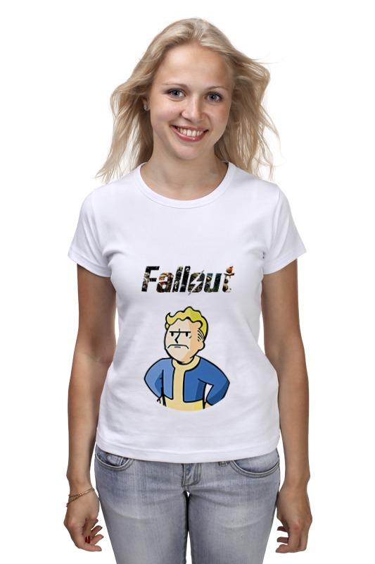 Футболка классическая Printio Fallout vaultboy футболка классическая printio fallout фэллаут