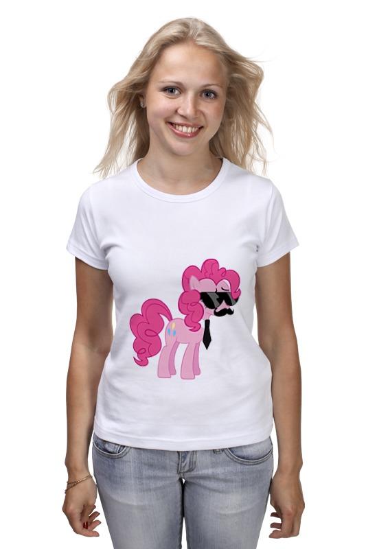 Футболка классическая Printio My little pony - пинки пай (pinkie pie) детская футболка классическая унисекс printio my little pony пинки пай pinkie pie
