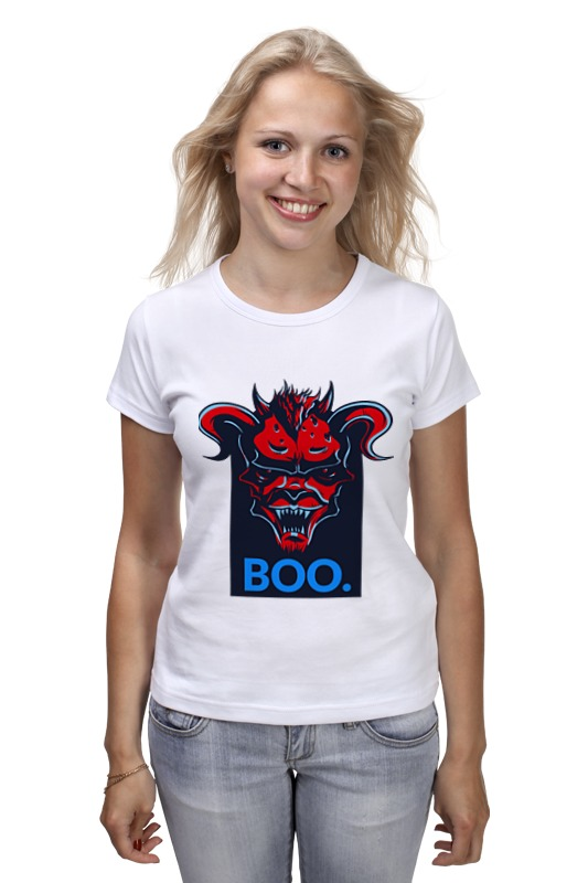 Футболка классическая Printio Boo футболка классическая printio halloween boo