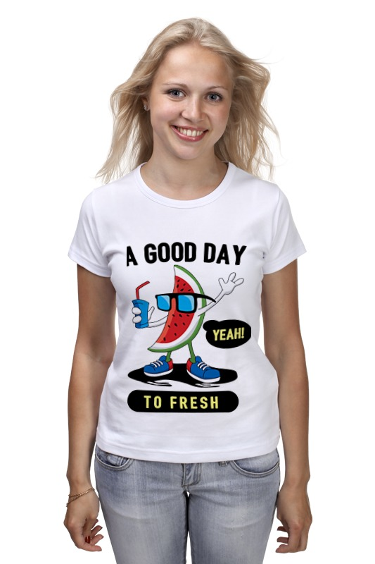 Футболка классическая Printio A good day to fresh good day bad day easystarts cd rom