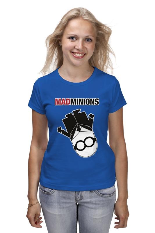 Футболка классическая Printio Mad minions крем ночной восстанавливающий declare declare mp002xu003mr