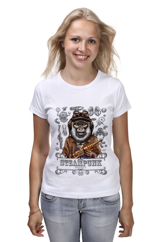 Printio Steampunk monkey свеча дожи