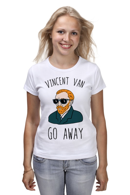 Футболка классическая Printio Vincent van go away футболка print bar vincent black shadow