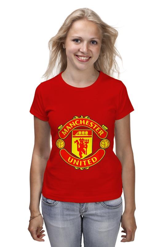 Футболка классическая Printio Manchester united майка классическая printio manchester united