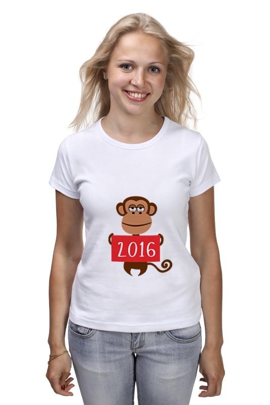 Футболка классическая Printio Год обезьяны  2016