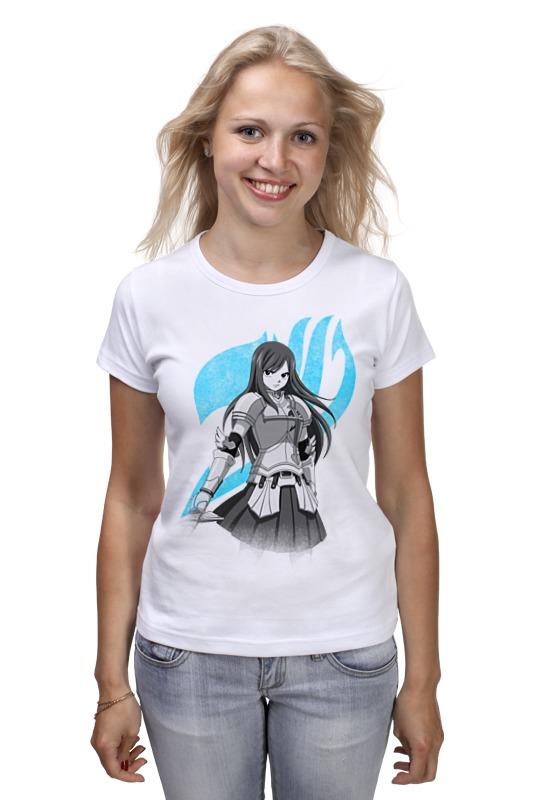 Футболка классическая Printio Эрза скарлет. fairy tail футболка wearcraft premium slim fit printio эрза скарлет fairy tail
