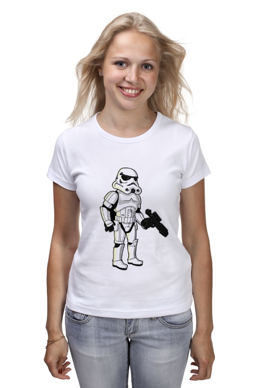 Футболка классическая Printio Star wars - штурмовик футболка классическая printio r2 d2 star wars