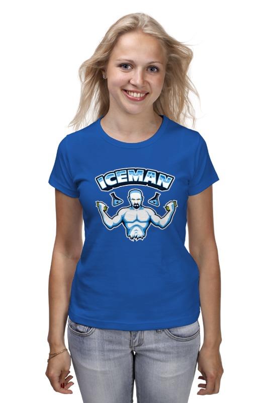 Футболка классическая Printio Iceman майка print bar iceman