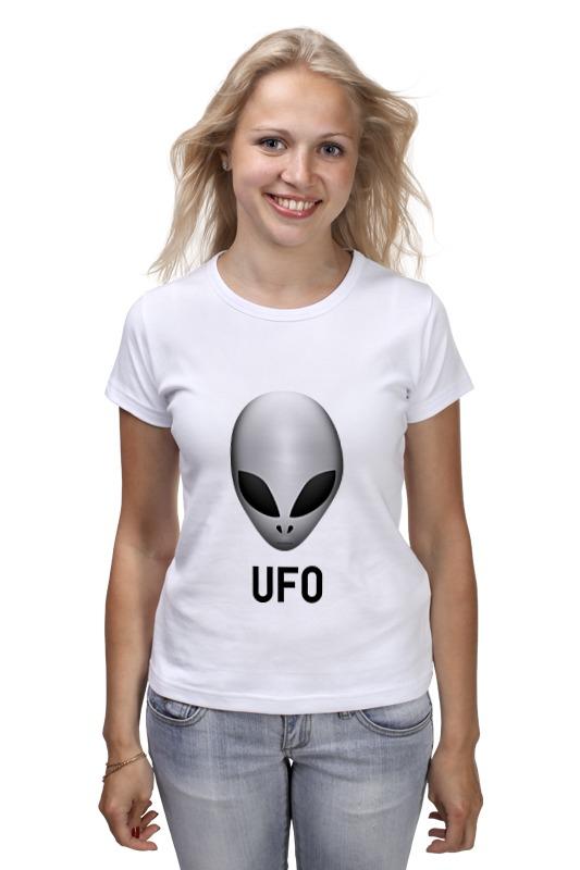Футболка классическая Printio Пришелец ufo детская футболка классическая унисекс printio пришелец ufo
