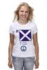 "Футболка (Женская) ""Mike (M),флаг МСС (eng)"" - море, флаг, яхтинг, мсс, boatstyle"