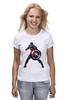 """Футболка классическая """"Капитан Америка / Captain America"""" - супергерой, марвел, капитан америка, captain america, kinoart"""
