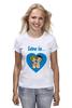 "Футболка (Женская) ""love is..."" - heart, love is"