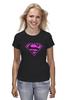 """Футболка классическая """"SuperMan EMO"""" - night, superman, pink, эмо, emotion"""