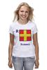 "Футболка (Женская) ""Romeo (R), флаг МСС (eng)"" - море, флаг, яхтинг, мсс, boatstyle"