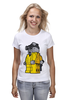 "Футболка классическая ""Breaking Bad x Lego"" - white, во все тяжкие, meth, гайзенберг, лего"