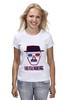 "Футболка классическая ""Heisenberg 3d"" - heisenberg, во все тяжкие, 3d, breaking bad"