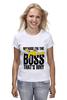 "Футболка классическая ""Because i'm the Boss"" - симпсоны, босс, the simpsons, homer simpson, гомэр симпсон"