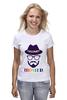 "Футболка классическая ""хипстер"" - style, очки, hat, шляпа, усы, hipster, shades, mustache"