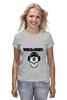 "Футболка (Женская) ""Skull WOT "" - skull, череп, games, игры, игра, game, логотип, world of tanks, танки, wot"