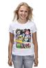 "Футболка классическая ""Adventure Time "" - adventure time, время приключений, фин, джейк, jake, finn, бубльгум"