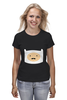 "Футболка (Женская) ""Adventure Time"" - adventure time, усы, время приключений, finn, финн"