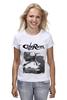 "Футболка классическая ""Caferacer girl"" - байк, vintage, racer, caferacer, dotheton"