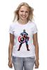 "Футболка классическая ""Капитан Америка / Captain America"" - рисунок, капитан америка, captain america, knoart"