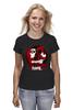 "Футболка классическая ""Харли Квинн (Harley Quinn)"" - batman, бэтмен, харли квинн, harley quinn, gotham girl"