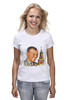 """Футболка (Женская) """"Гагарин"""" - гагарин, космонавт, yuri gagarin, герой советского союза"""