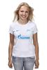 "Футболка (Женская) ""FC Zenit St. Petersburg"" - зенит, санкт-петербург, zenit, fc zenit"