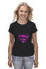 "Футболка классическая ""SuperMan EMO sweatshirt"" - superman, pink, эмо, e-one, emotion"