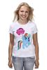 """Футболка (Женская) """"my little pony girl"""" - my little pony, пони, для детей, детское"""