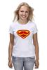 """Футболка классическая """"Супермен-усач-бородач"""" - супермен, superman, борода, усы, бородач"""