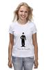 "Футболка классическая ""Charlie Chaplin"" - charlie chaplin, чарли чаплин, огни большого города, бродяга"