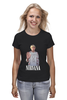 "Футболка (Женская) ""Nirvana Kurt Cobain hello t-shirt"" - гранж, nirvana, kurt cobain, курт кобейн, нирвана"