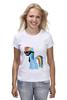 """Футболка (Женская) """"My Little Pony - Rainbow Dash (Радуга)"""" - радуга, pony, rainbow dash, mlp, пони"""