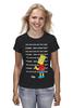 "Футболка (Женская) ""Bart Simpson & Chalkboard"" - симпсоны, the simpsons, bart simpson, барт симпсон"