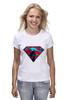 """Футболка (Женская) """"superman"""" - superman, супергерои"""
