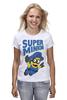 "Футболка (Женская) ""Super Minion"" - миньон, minion"