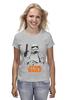 "Футболка (Женская) ""Star Wars"" - лукас, звёздные войны, trooper, штурмовик, force awakens"