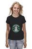"Футболка классическая ""Frozen coffee"" - кофе, coffee, starbucks, frozen, холодное сердце"